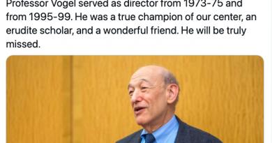 哈佛教授、著名中国问题专家傅高义逝世,享年90岁