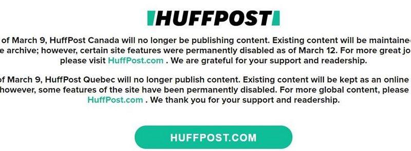 美国数字新媒体公司BuzzFeed将关闭加拿大业务