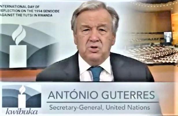 联合国秘书长古特雷斯敦促推动反仇恨运动,反思卢旺达种族灭绝