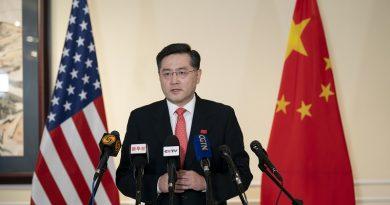 秦刚大使向中美媒体发表讲话